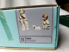 Lladro Ornaments Collectable Mini Pastorcitos Holy Shepherds 5809 Lot Of 3