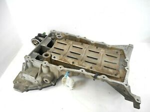 04-07 Jaguar XJ8 Upper & Lower Engine Oil Pan OEM