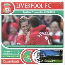 Liverpool 2005-06 Tottenham (Harry Kewell) Football Stamp Victory Card #524