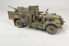 1/35 Built Chevrolet LRDG with Breda Gebaut