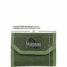 Maxpedition Foliage Green 0253 Folding Lightweight Nylon CMC Wallet 0253f
