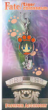 Fate/Stay Night Fastener Rin Tohsaka Charm Anime Manga Game MINT