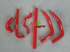 for kawasaki KXF250 KX250F KX 250 F 2009-2014 silicone radiator hose RED