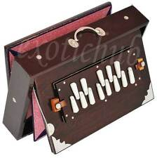 "SHRUTI BOX~TEAK WOOD~SIZE (15"" X 10"" X 3"")~440 Hz~YOGA~MANTRA~BHAJAN~MEDITATION~"