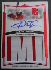 2014 Leaf Perfect Game Dazmon Daz Cameron Auto Jersey Patch Card #09/10