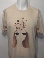 Womens KXLU 88.9 Los Angeles Windmills Of Your Mind T-Shirt L American Apparel