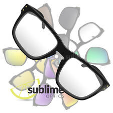 UV400 Clear Replacement Lenses For Oakley Holbrook ~ Safety ~ 100% UVProtection
