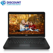 "Dell Latitude Laptop Computer Core i7-4600U Windows 10 14"" HD PC Pro 8GB 500GB"
