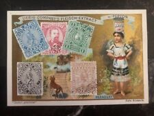 Mint Liebig Company Fleisch Extract Paraguay Stamp on Stamp Postcard