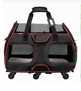 Luxury Rolling Pet Carrier, NWT, Free Shipping!