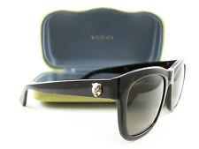 Gucci Women's Sunglasses GG0032S Havana Brown 002 Authentic