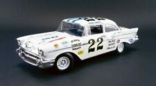 Acme 1/18 1957 Chevrolet Bel Air #22 Fireball Roberts Diecast Car A1807002