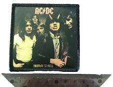 patches iron on ACDC Band Highway to Hell Picture New