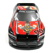 JLB37 RC 1/10 Scale Monster Truck Body Shell Cover Red Uncut