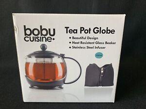 Bobu Cuisine TEA POT GLOBE New In Box!