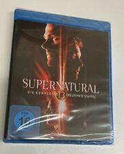 4 Blu-Ray Box TV-Serie Supernatural die komplette dreizehnte Staffel 13