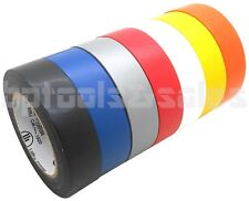 "3/4"" x 50' Electrical Tape Professional Insulating Tape StrongGrip Electric Tape"