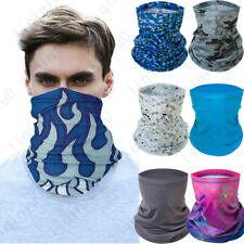 Neck Gaiter Bandana Half Face Mask Headband Ice Silk Face Cover Balaclava Scarf