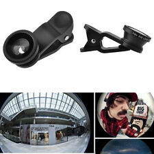 3in1 180 FishEye Wide Angle Micro New Photo Lens Zoom Camera Kit for Nokia phone