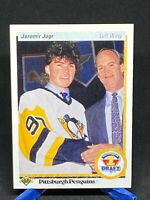 1990-91 Upper Deck UD #356 Jaromir Jagr RC Rookie Card Pittsburgh Penguins