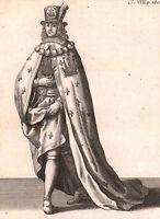 Gravure Chevalier Ordre du Croissant Ordre du Navire Outre Mer Saint-Louis