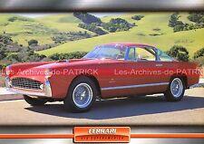 FERRARI 410 Super-America ( Superamerica ) 1956 : Fiche Auto Collection