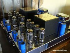 Jadis Oui 120. High End monopower tubes Amplifiers. Two units.