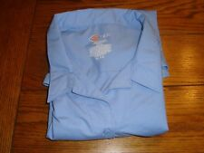 Dickie's Light Blue L/S Button Down FLO10LB Tailored Shirt - Size XL (20/22)