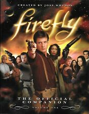 Joss Whedon's Firefly The Official Companion V. 1 & 2 Paperback 1st Editions