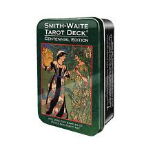 Smith-Waite Centennial Tarot Card Deck and Book in Tin Box