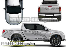 Mitsubishi L200 001 Animal FULL tribal stickers decals vinyl graphics f/r+sides