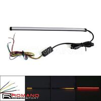 Motorcycle Sequential Switchback Flowing LED Strips Turn Signal Light Indicator