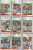 Laos 638-646 (kompl.Ausg.) gestempelt 1983 Russ. Raumfahrt