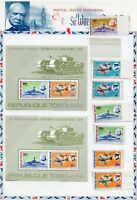 TOGO CHURCHILL MEMORIAL SET & S/S PERF & IMPERF MINT NH  AS SHOWN