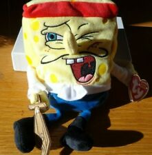 Captain - Spongebob Squarepants Beanie Baby; Ty, New with tags