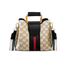 Fashion Women Shoulder Purse Crossbody Bag Satchel Lady Handbag Tote Two Straps