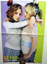 Mary-Kate Olsen / Ashley Fuller Olsen magazine poster A3 16x11