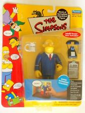 The Simpsons Superintendent Chalmers Action Figure Playmates Toys NIB