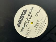 "NAUGHTY BY NATURE WICKED BOUNCE 12"" 1999 ARISTA ARDP 3726 DJ PROMO COPY"