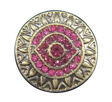 Noosa Style Chunks Snap Button Charms Ginger Snaps Charm Hot Pink Bronze 20mm