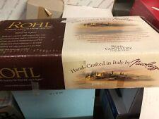 "Rohl Country Kitchen 11"" Column Spout - Satin Nickel C7444/11Stn (Nib)"