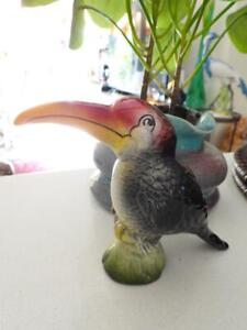 Vintage Porcelain Toucan Bird - Made in England by Weatherby
