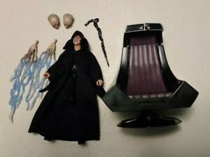 Star Wars Black Series Emperor Palpatine with Throne Amazon Exclusive