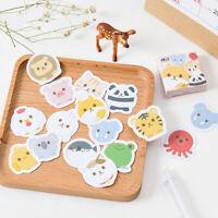 45pcs/set Cartoon Animal Paper Sticker Decoration DIY Ablum stickers