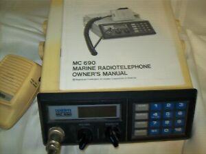 Uniden MC690 Marine CB Radio Transreciever  Weather Button
