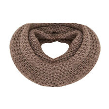 Warmer Winter Neck Woman Wool Scarf Shawl Neck - Brown