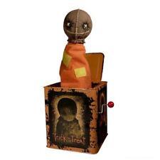 """Trick ´r Treat Burst-A-Box 14"""" Sam Springteufel Spieluhr Action Figur"""