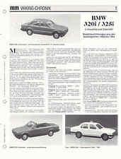 WIKING CHRONIK  BMW 320i / 325i,   von 1995