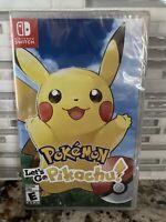 Pokemon Let's Go Pikachu Nintendo Switch Brand New Factory Sealed
