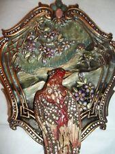 Jay Strongwater Parsifal Lyrebird Handheld Mirror In Opal - #Sdh120-419